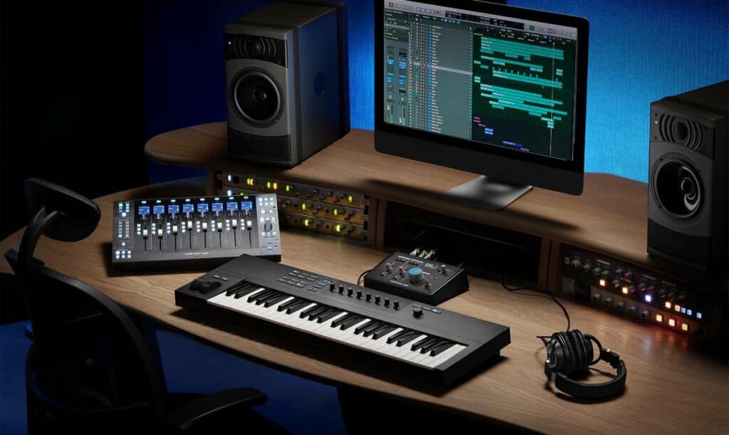 Produkcja muzyczna z użyciem SSL UF8