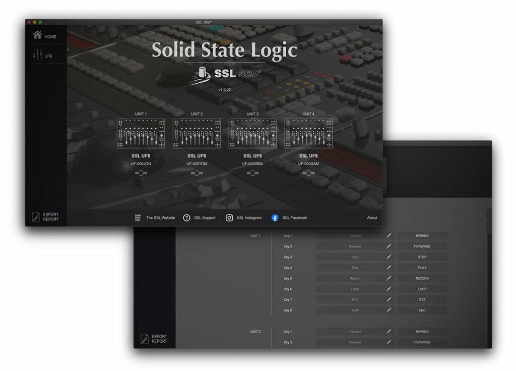 Aplikacja 360 do kontroli SSL UF8