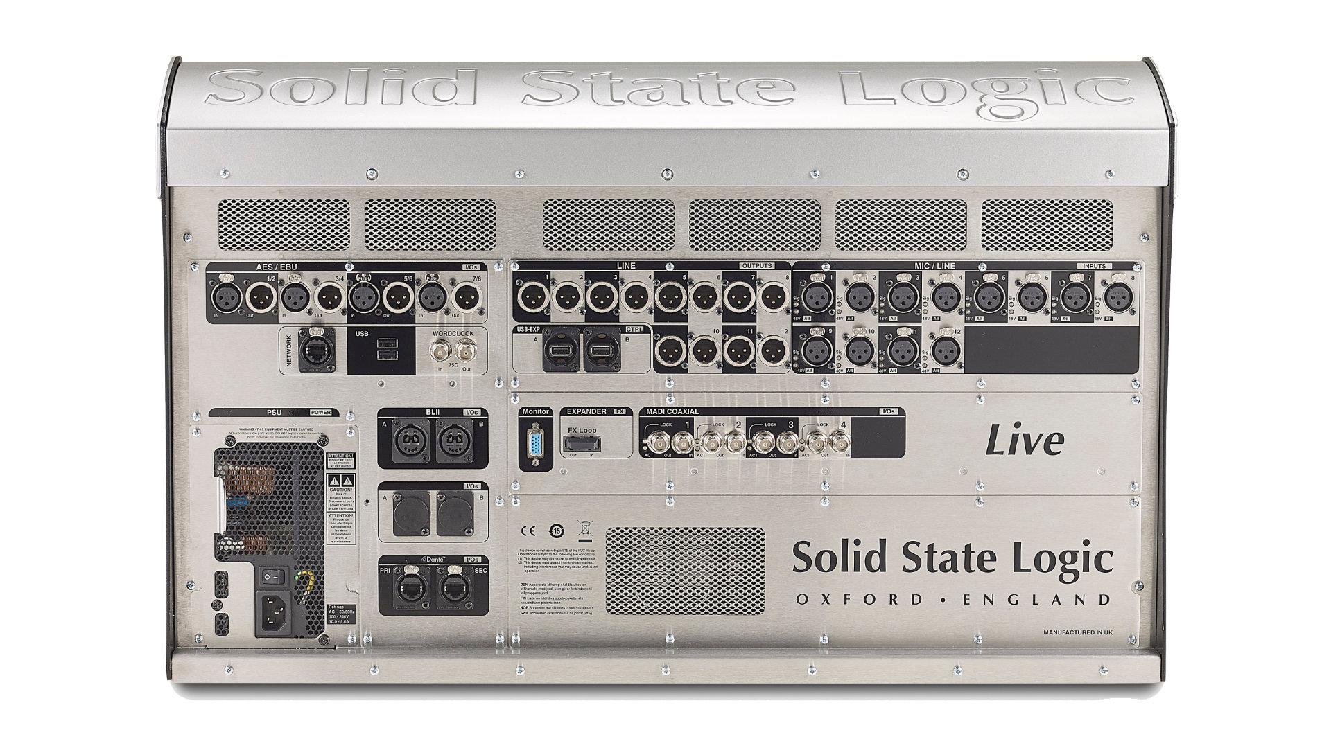 Cyfrowa konsoleta SSL Live L100