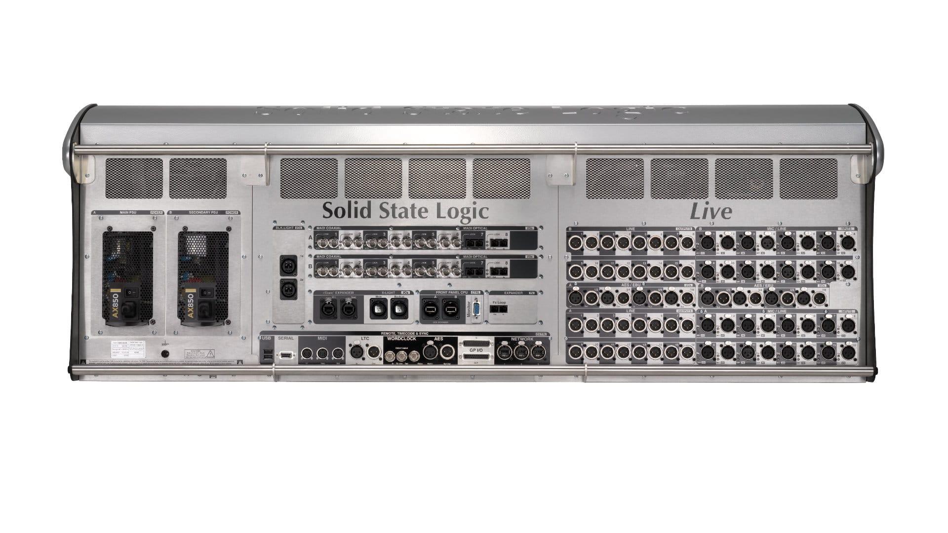 Cyfrowa konsoleta SSL Live L550