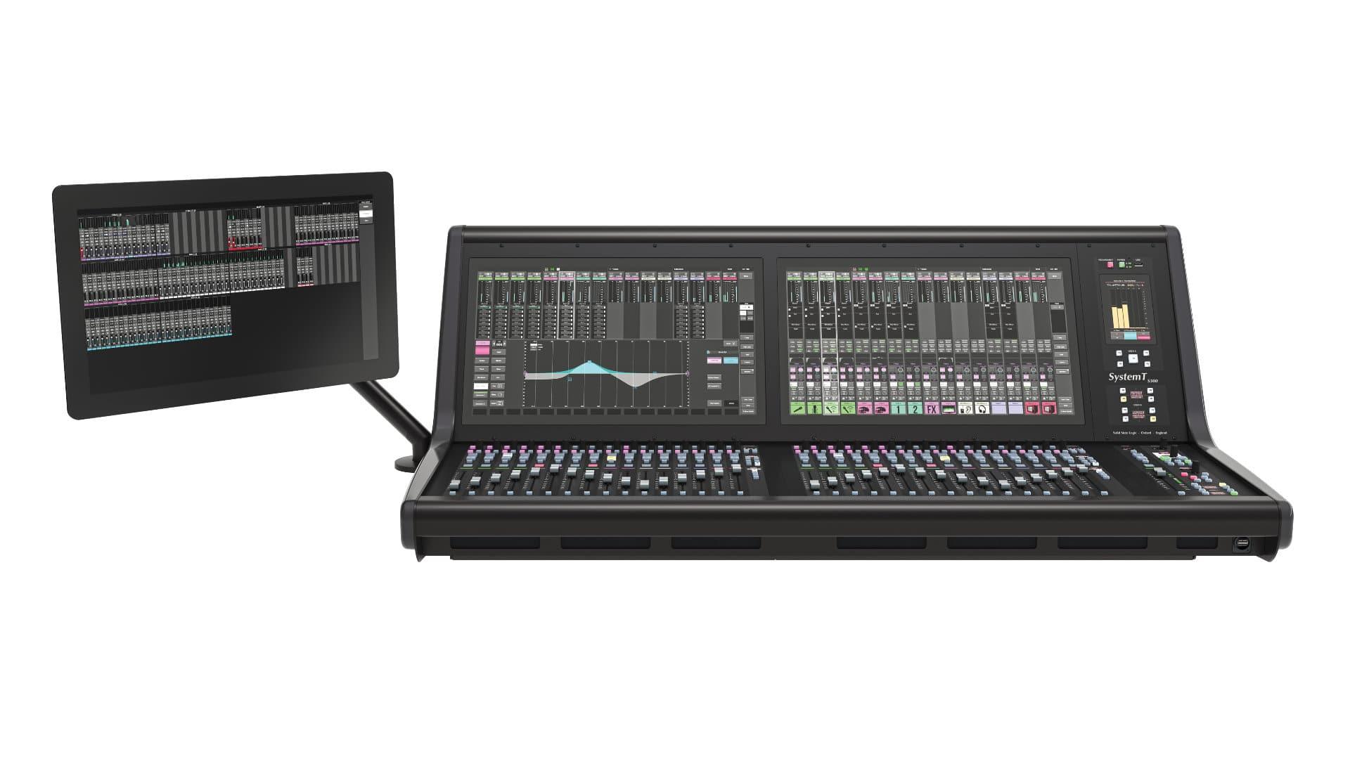 Cyfrowa konsoleta dla studia i broadcastu SSL Sytem T S300