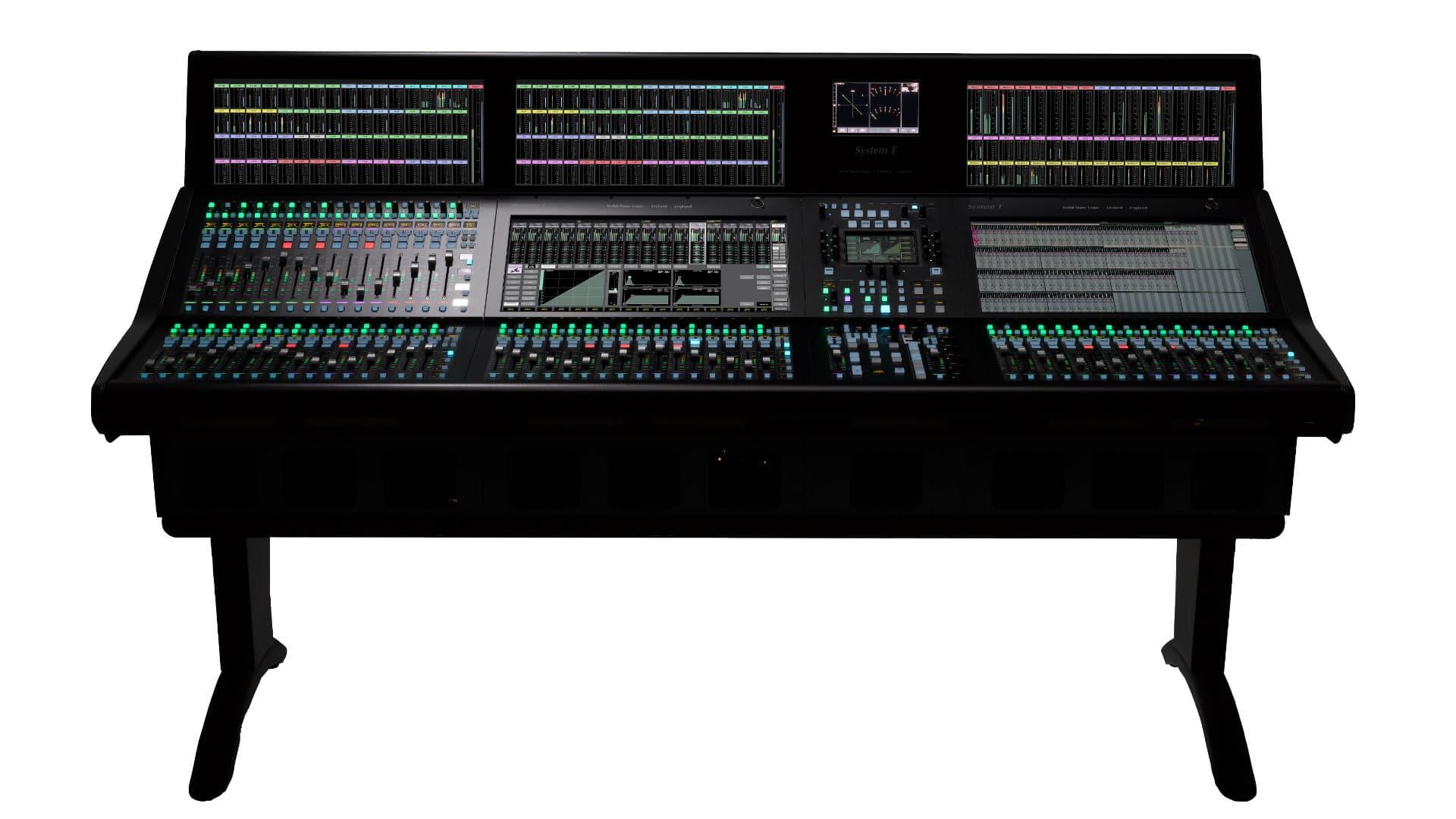 Cyfrowa konsoleta dla studia i broadcastu SSL Sytem T S500