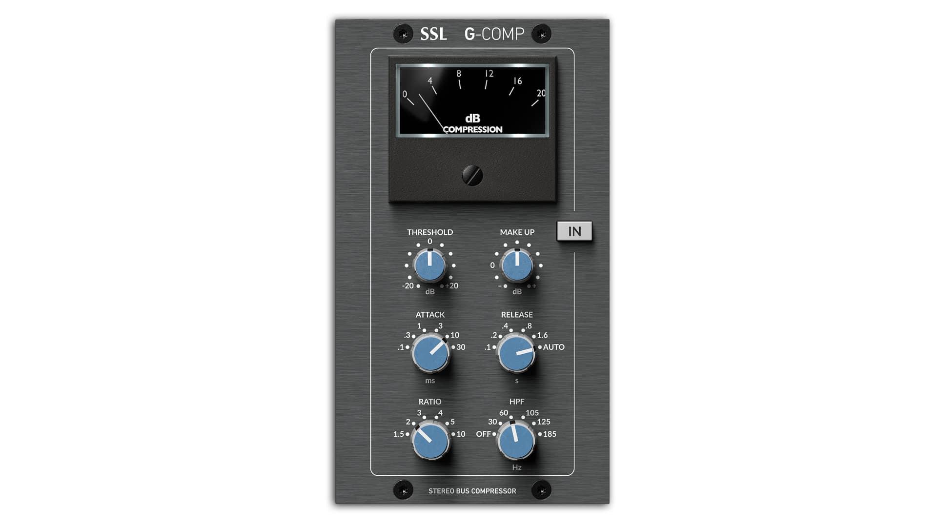 Stereo Bus Compressor - SSL G-Comp 500