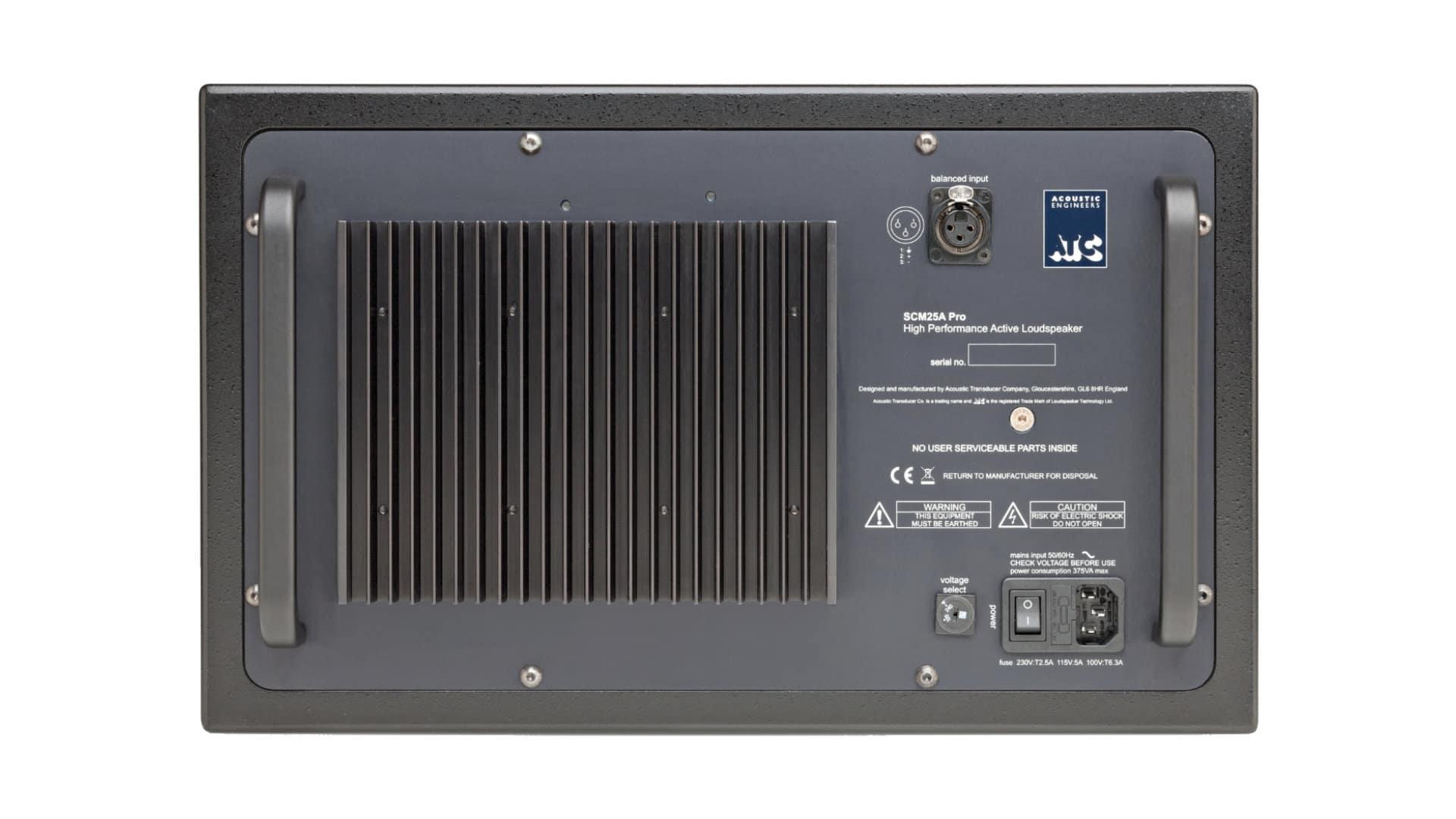 Monitor studyjny bliskiego pola ATC Loudspeakers SCM25A Pro