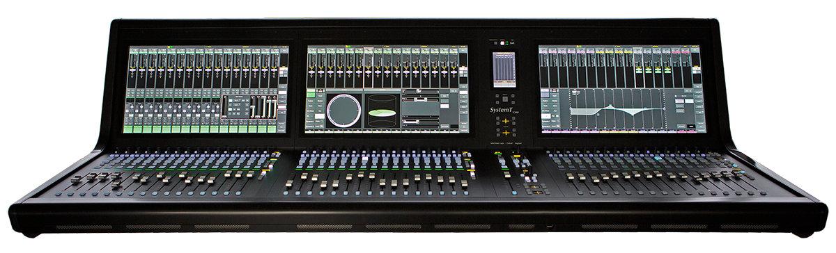 SSL System T S300 - 48 faderów