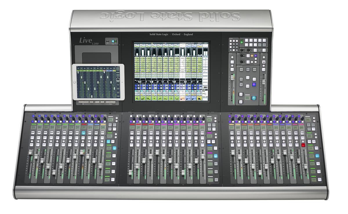 Fader tray Konsola SSL Live L200