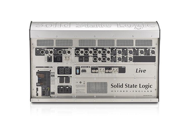 Konsola SSL Live L100 - tył