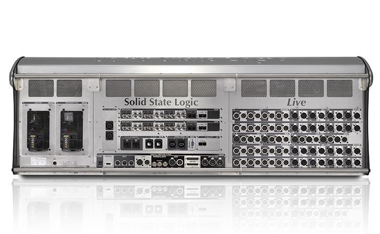 Panel tylni konsoli SSL Live L550