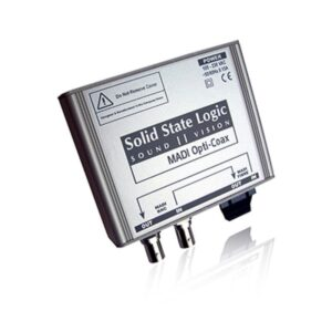 Konwerter SSL MADI-Opti-Coax