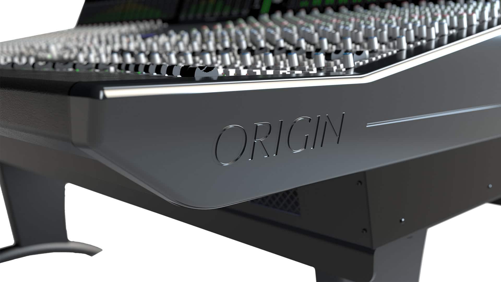 Studyjna konsoleta analogowa z kontrola DAW SSL Origin