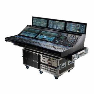 Cyfrowa konsoleta dla studia i troadcastu SSL System T500m