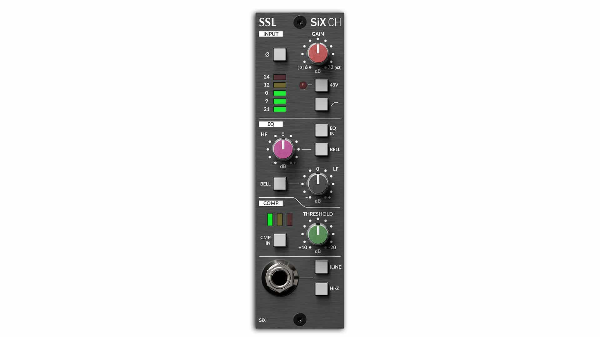 Moduł SSL 500 Channel strip SiX