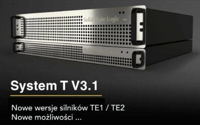 Aktualizacja SSL V3.1 dla serii System T