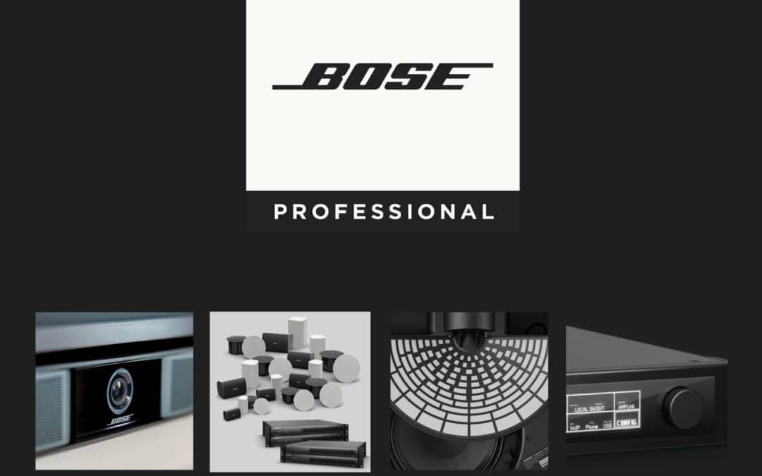 Nagłośnienie instalacyjne i przenośne Bose Professional